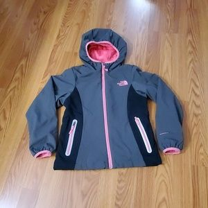 The North face windfall jacket girls Small 7/8